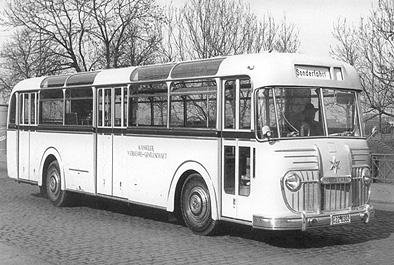 1953 Henschel HS 200 UN Kässbohrer