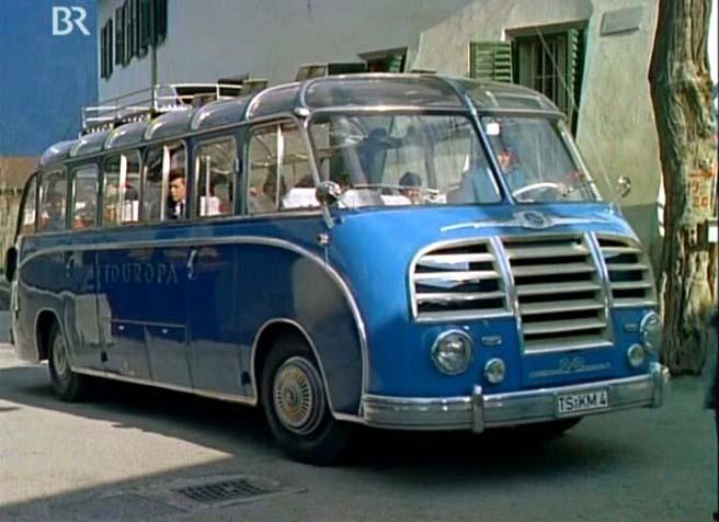 1953 Kässbohrer Setra S 8 Panoramabus