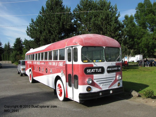 1953 Kenworth Buddy Holly Bus