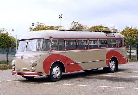 1954 Autocar Besset ISOBLOC type 648 DP 102