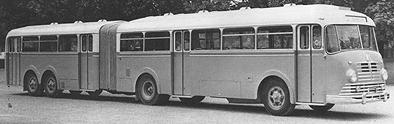 1954 Büssing 6000 T Gelenkzug Kässbohrer