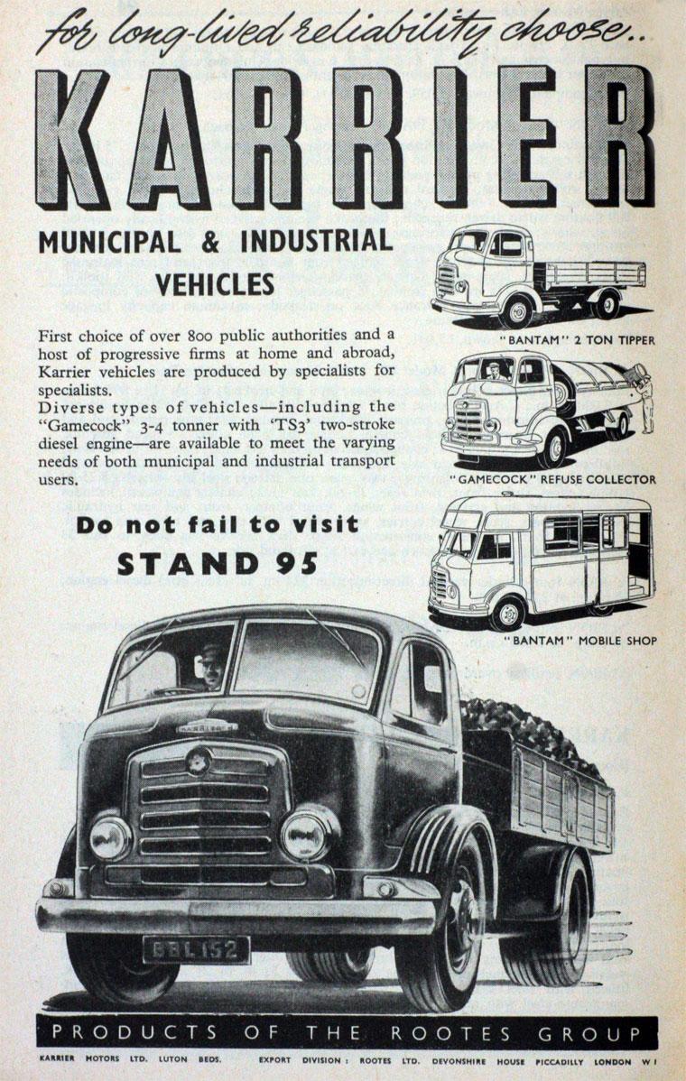 1954 CMS-Karrier