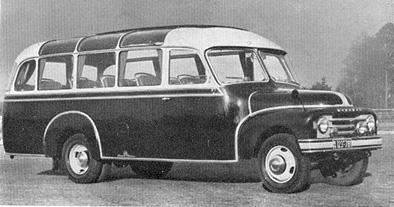 1954 Hanomag L 28 2,5 t Kässbohrer