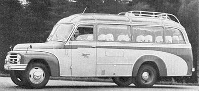 1954 Hanomag L 28 Kässbohrer