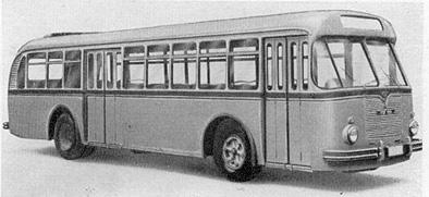 1954 MAN 558 HOC 1 Kässbohrer