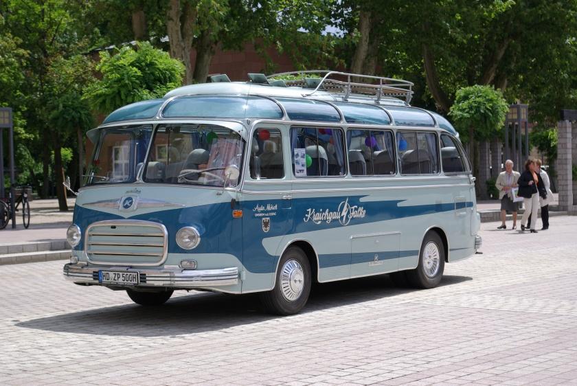 1954 Setra S 6 BW 1