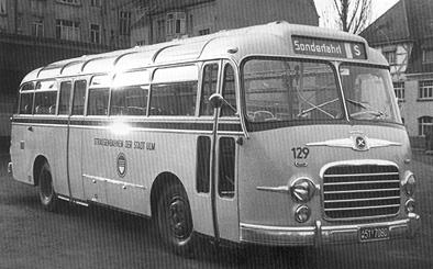 1955 Setra S 10 Kässbohrer