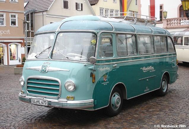 1955 Setra S 6 Klein-Reisebus