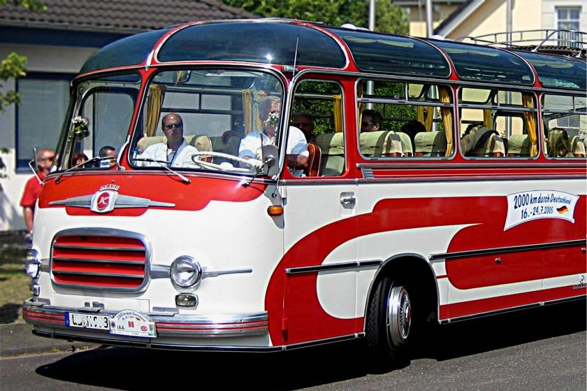 1956 Kässbohrer Setra-Bus mit Panoramafenstern
