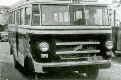 1956 Pirmos serijos KAG-3 su logotipu KAG ant priekinių grotelių.