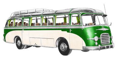 1956 Setra S 10 Kässbohrer