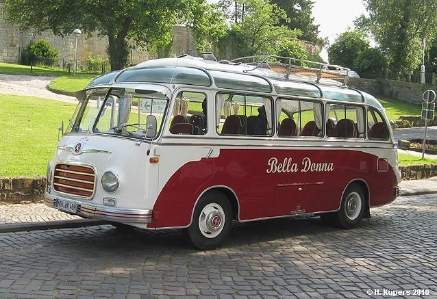 1956 Setra S 6 Klein-Reisebus Bell