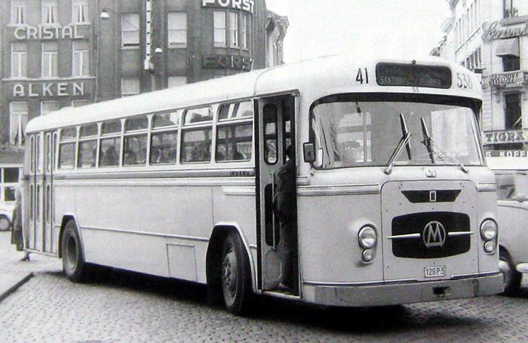 1957 Jonckheere Auto Miesse Bus