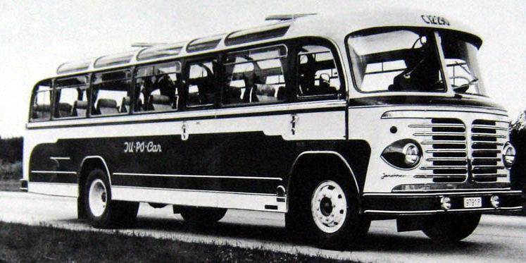 1957 Jonckheere DAF bus
