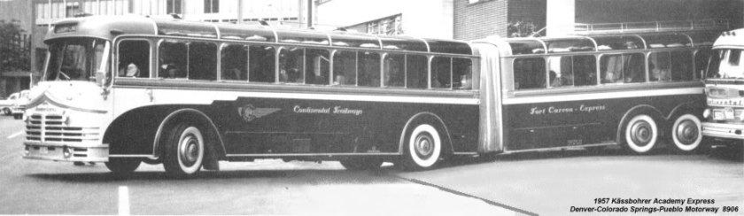 1957 Kässbohrer Man Setra ARTICTRAIL2 USA