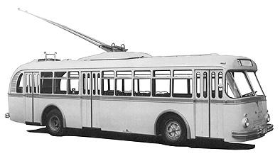 1957 MAN 590 HEC 1 Kässbohrer Trolley