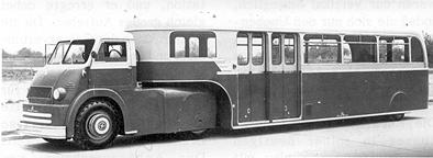 1957 Sattelomnibus Kässbohrer