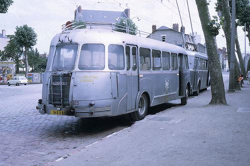 1958-0500 - Limoges, autobus Isobloc