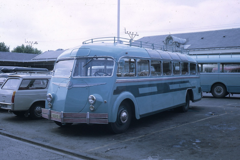 1958 Autocar Isobloc Lourdes Parking
