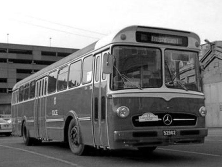 1959 Jonckheere mercedes O302 bus