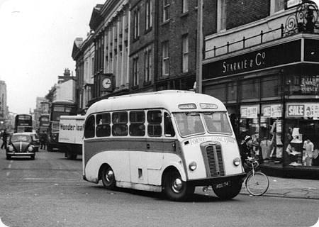 1959 Karrier Bantam Bus MDU-14
