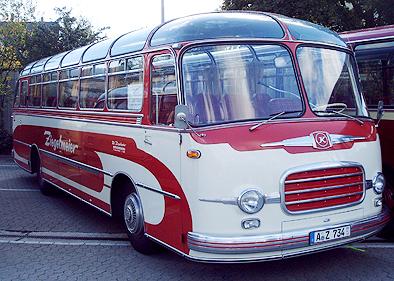 1959 Setra S 10 Kässbohrer a
