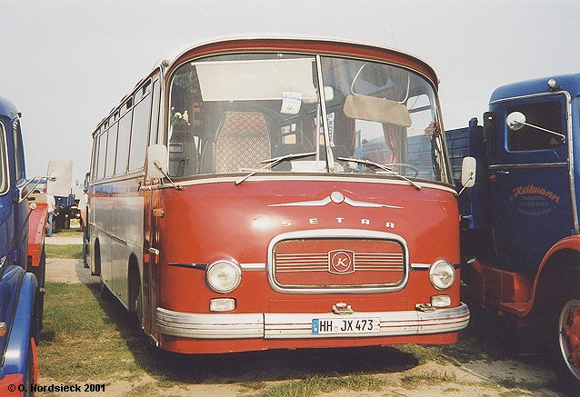 1959 Setra-S9-Reisebus-rot-weiss-Front
