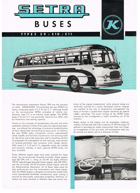 1959 SETRA S9,S10,S11