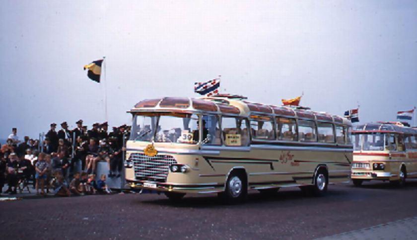 1960 DAF TB 160 DS 520 DAF carr Jonckheere GTW20