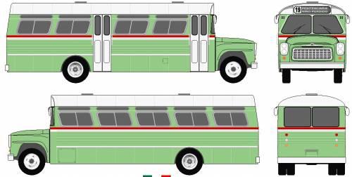 1961 Incasel Ponei Bus