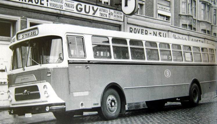 1961 Jonckheere Guy bus