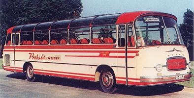 1961 Setra S 12 Überland Kässbohrer