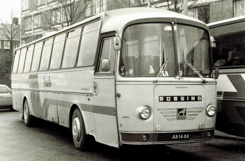 1962 BAK 16-1 Büssing Jonckheere