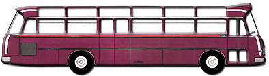 1962 Setra S 12 UL - 2. Baureihe Kässbohrer