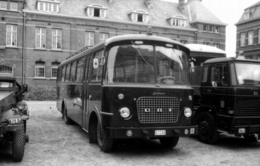 1964 DAF Jonckheere bus Rijkswacht B