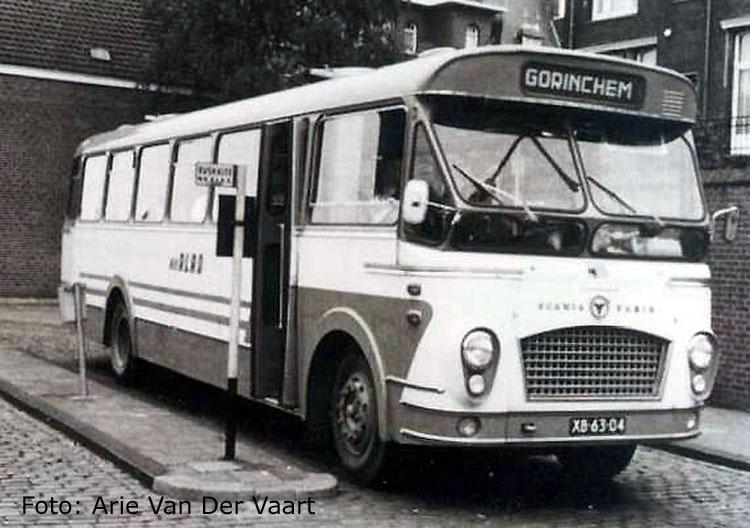 1964 Jonckheere Scania Vabis bus