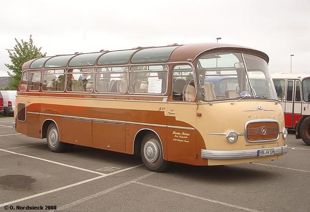 1964 Setra S 10 Reisebus
