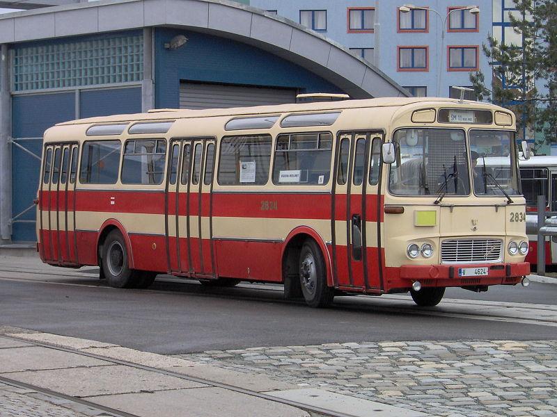 1965 Karosa ŠM 11 w Brnie