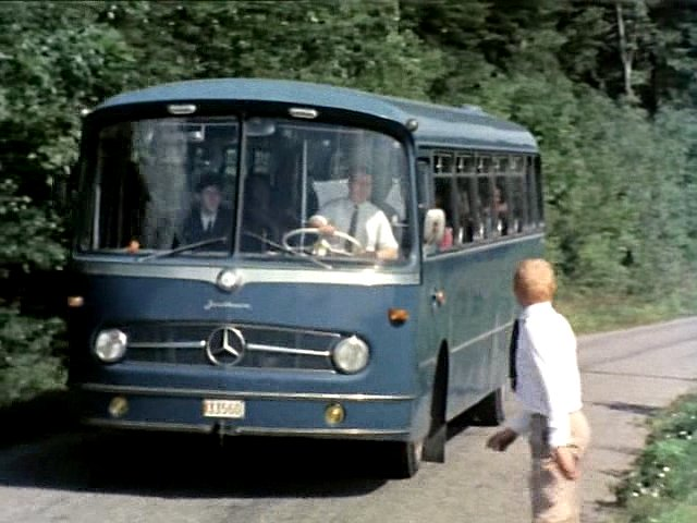1965 Mercedes-Benz O 321 H Jonckheere bodywork