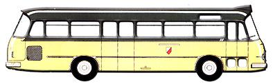 1965 Setra S 11 Stadtlinienausführung KÄssbohrer
