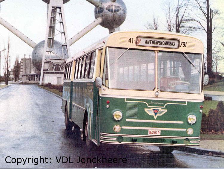 1966 AEC Jonckheere atom omnibus