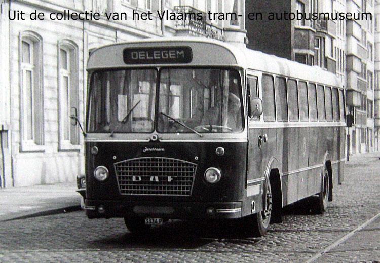 1966 Jonckheere Daf TB bus
