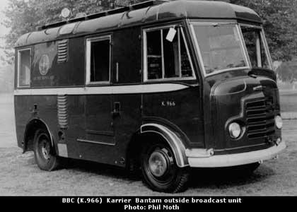 1966 Karrier Bantam BBC remote