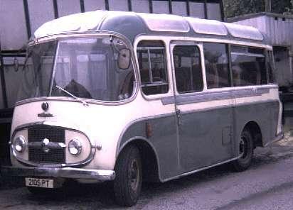 1966 Karrier - Plaxton coach