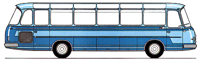 1966 Setra S 11 - 2. Baureihe Kässbohrer