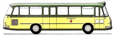 1966 Setra S 11 Stadtlinienausführung Kässbohrer