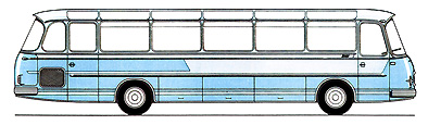 1966 Setra S 12 - 2. Baureihe Kässbohrer