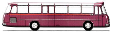1966 Setra S 12 UL - 2. Baureihe Kässbohrer