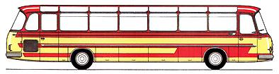1966 Setra S 14 - 2. Baureihe Kässbohrer