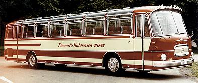 1966 Setra S 15 - 2. Baureihe Kässbohrer